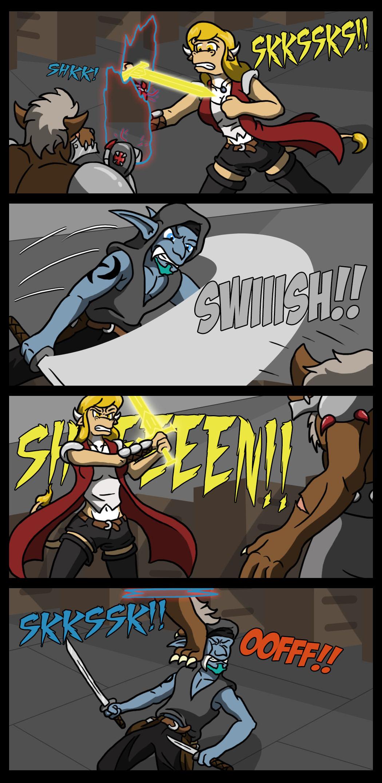 Portal fights