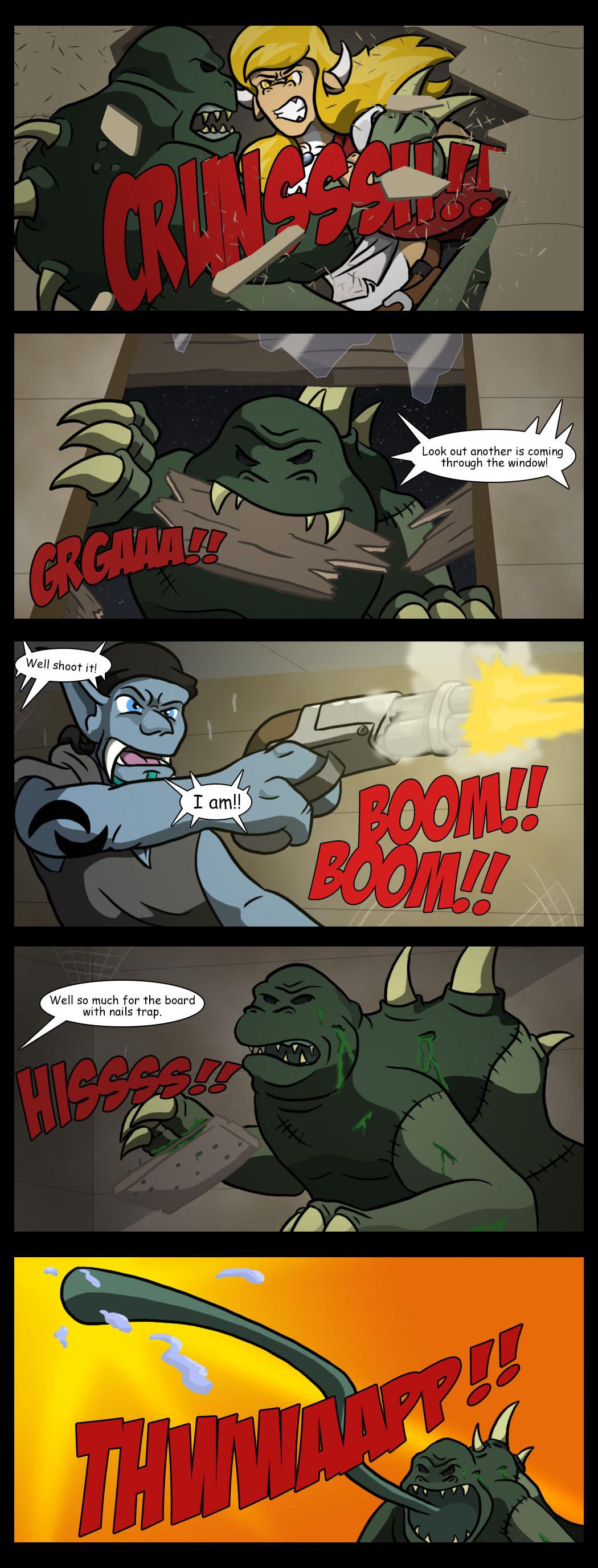 No traps brawl!