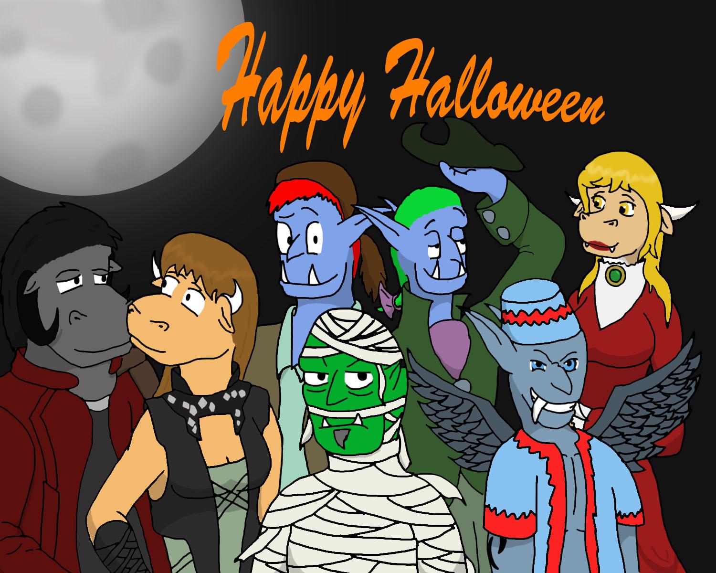 Reader Halloween 2014